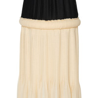 Knife Pleated Gauze Skirt | Moda Operandi
