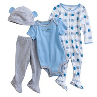 First Moments Elephant Sleep & Play Set - Baby