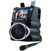 """Karaoke Usa Dvd And Cd+g And Mp3+g Bluetooth Karaoke System With 7"""" Tft Color Screen"""