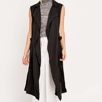 BDG Camille Washed Waistcoat - Urban Outfitters