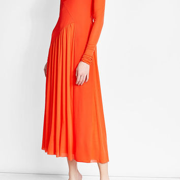 Jersey Tulle Dress - Emilio Pucci | WOMEN | US STYLEBOP.COM