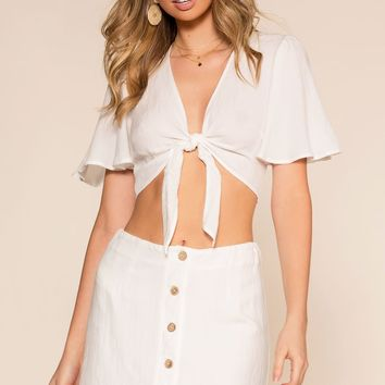 Perfectly Put Skirt - Ivory