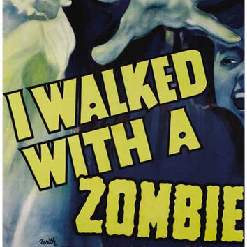 I Walked With a Zombie Mojo Hand Movie Poster 11x17