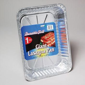 Giant Aluminum Lasagna Pan - CASE OF 100