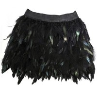 OASAP - Feather Mini Skirt - Street Fashion Store