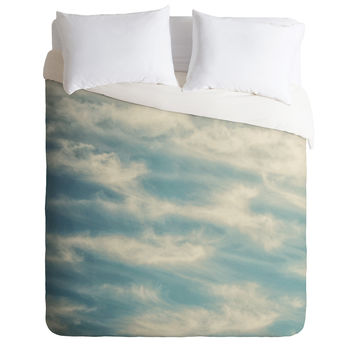 Shannon Clark Peaceful Skies Duvet Cover