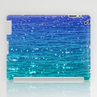 SEA SPARKLE iPad Case by catspaws
