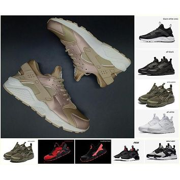 Hot Sale Nike Air Huarache Running Shoes For Men Women Rose Gold High Quality Sneakers Triple Huaraches Trainers huraches Sport Shoes