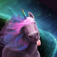 Sassy Unicorn by Jessica LeClerc