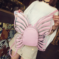 Pink Butterfly Wings Shoulder Bag from pennycrafts