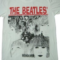 the beatles revolver john lennon retro shirt lennon unisex size l