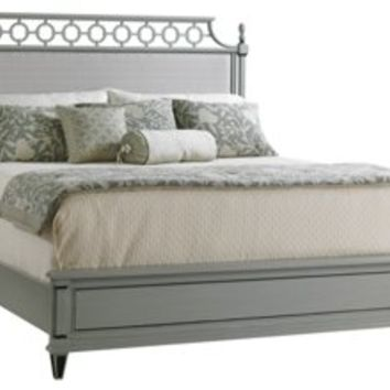 Bed Gray Botany Upholstered, Panel Beds