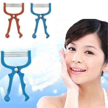 ICIKKFQ new facial hair remover handhel spring hair removal threading epilator for lip hair portable face epi roller  lulu 800L