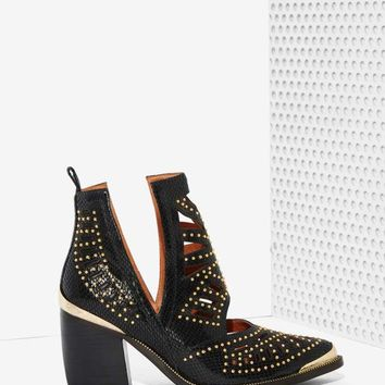 Jeffrey Campbell Maceo Cutout Leather Boot