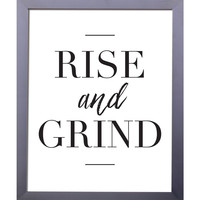 Rise And Grind | Printable