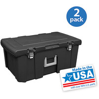 Walmart: Sterilite 23-Gallon (92-Quart) Footlocker, Set of 2