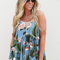 Blowing In The Breeze Top {Blue}