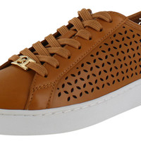 Michael Kors Olivia Women's Perforated Sneakers Leather