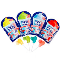 ICEE Lollipop with Popping Powder Candy Packs: 18-Piece Box