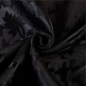 115x100cm High Quality black Metallic Jacquard Brocade Fabric,3D jacquard yarn dyed fabric for clothing,bedding,bag,curtain