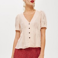 Animal Print Jacquard Shirt - New Semester - Clothing