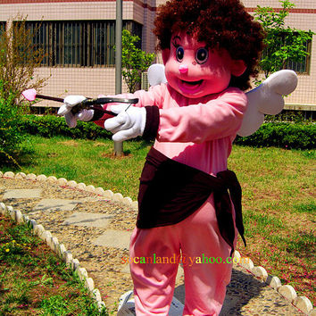 Cupid Mascot Costumes, Cosplay Costumes, Costumes for Adults, Clothing for Men, Performing Costume,Party Costumes, Birthday Costumes