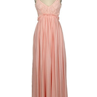 Dreamt of You Maxi Dress - Blush