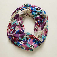 Anthropologie - Pansy Bouquet Infinity Scarf