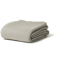 Fariabault Thermal Weave Wool Blanket - Feather Gray