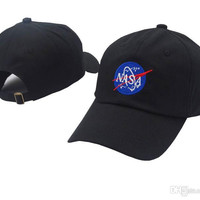 11 color 2017Fashion rare I NEED MY SPACE NASA Meat Ball 6 god Embroidered Cotton dad hat snapback Baseball cap i feel like pablo casquette