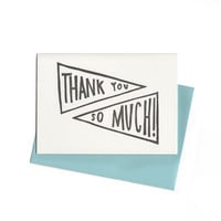 Iron Curtain Press Thank You Notecard