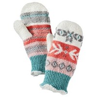 Isotoner® Winter Mittens - Multicolored