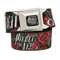Pierce The Veil Roses Seat Belt Belt