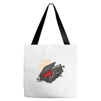 dead man walking Tote Bags