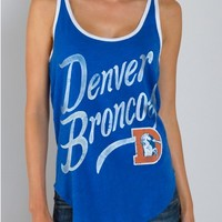 Junk Food Clothing - NFL Denver Broncos Tank - NFL - Collections - Womens