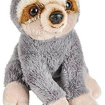 "Wildlife Tree 5"" Stuffed Sloth Baby Zoo Animal Plush Floppy Animal Heirloom Small World Collection"