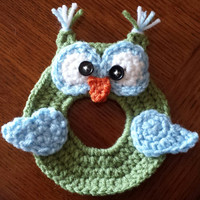 Crochet Camera Buddy / Friend Owl Lens Cover