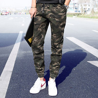 Camouflage Street Style Joggers