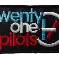 Twenty One Pilots Embroidered Iron On Sew On Patch