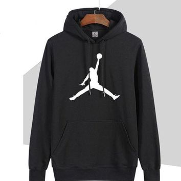 VXL8HQ Nike Jordan Women Man Fashion Print Sport Casual Top Sweater Pullover Hoodie