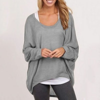 Oversized Loose Jane Pullover