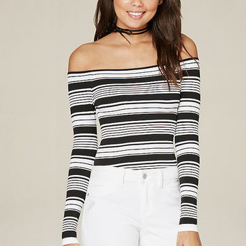 MIX STRIPE BODYSUIT