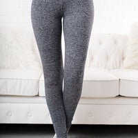 Namaslay Activewear Leggings (Fuzzy Black)