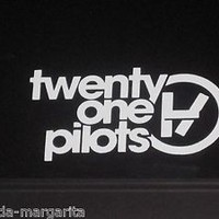 Twenty One 21 Pilots Music Rock Band Vinyl Decal Sticker Car Window 71014