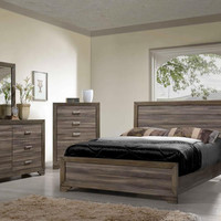 Asheville Driftwood King Bedroom Set