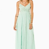 MAYBE I'M DREAMING MAXI DRESS IN MINT