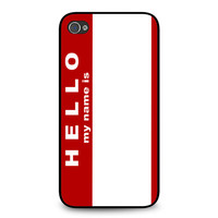 Hello My Name Is iPhone 4 | 4S case