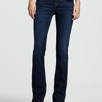 """True Religion """"Becky"""" Pearl-Embellished Bootcut Jeans in Dusty Skies Wash - Contemporary - Bloomingdales.com"""