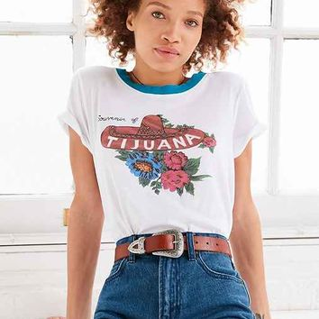 Truly Madly Deeply Destination Ringer Tee
