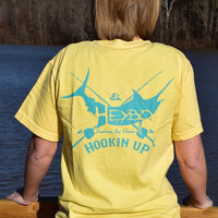 Heybo Hookin Up T-shirt - Yellow